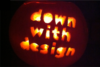 down with design pumpkin