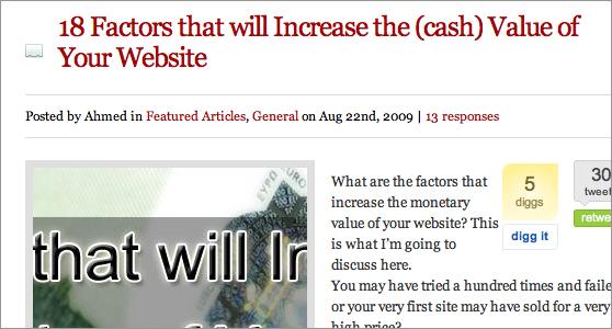 website-value
