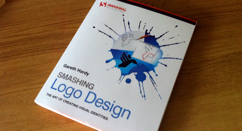 Smashing Logo Design book cover.