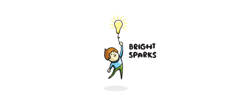 Bright Sparks Logo Design