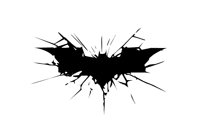 The New Batman Logo The Dark Knight Rises Down With Design