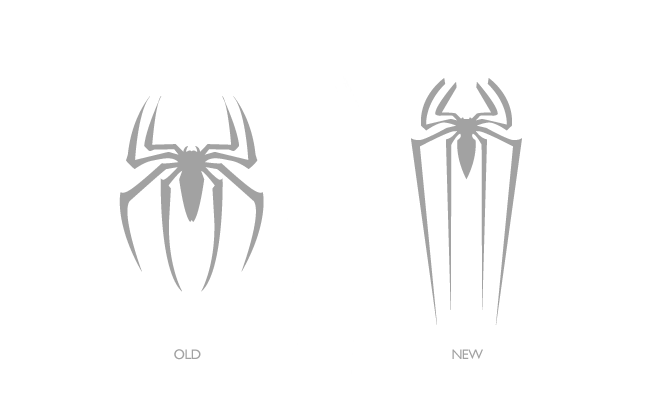 the new spider-man logo | down with design